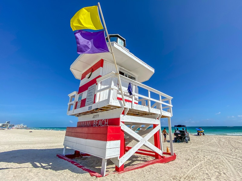 Miami Beach Lifefuard Tower