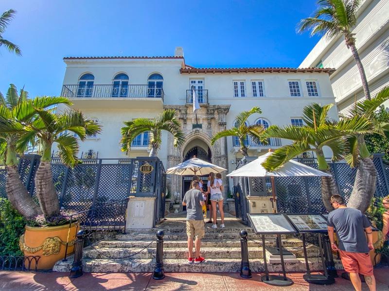 Versace Mansion aan Ocean Drive