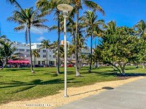Lummus Park Ocean Drive Miami Beach