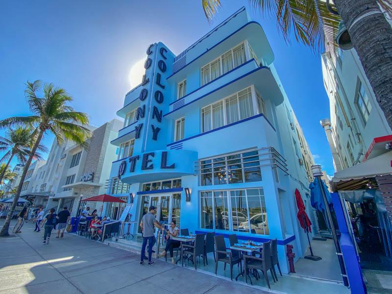 Één van de bezienswaardigheden in Miami is het Art Deco District