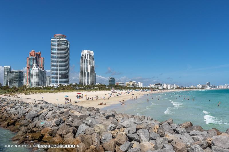Strand van Miami Beach